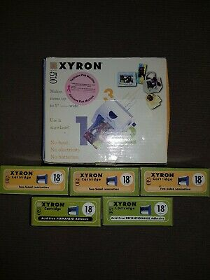 Xyron Model 510 Breast Cancer Pink Special Edition with Accessories