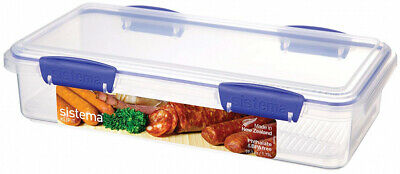 Sistema Food Storer 1.75Litre Capacity Storage Container BPA Clear NEW