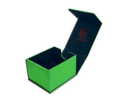 Legion - Deck Box Dragonhide Powerful Protection - Hoard Plus - Green MINT