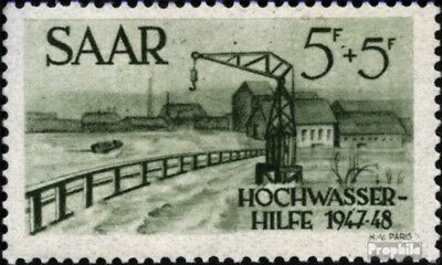 Saar 255 unmounted mint / never hinged 1948 Flood relief