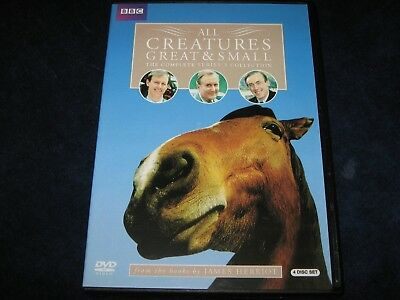 All Creatures Great & Small The Complete 5 Series Collection DVD MINT! FREE SHIP