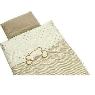 Be Be's Collection 636-44 Bed Linen Big Willi 80 x 80 Beige