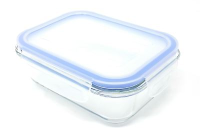 10 x FREEZER TO OVEN SAFE 1.4L GLASS STORAGE CONTAINER WITH BPA FREE CLIP LID