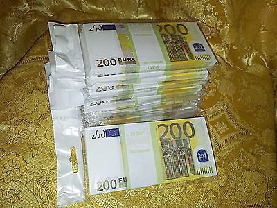 EURO.SOUVENIR BANKNOTE 200 euro, 11 package (SIZE:155*75mm#95~100pcs)NEW.