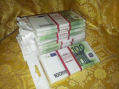 EURO.SOUVENIR BANKNOTE 100 euro, 10 package (SIZE:155*75mm#95~100pcs)NEW.