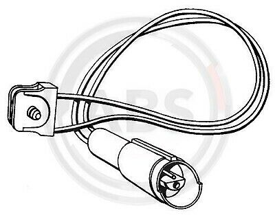 For Bmw 3 Series E30 Front Axle Brake Pad Sensor 34351153964