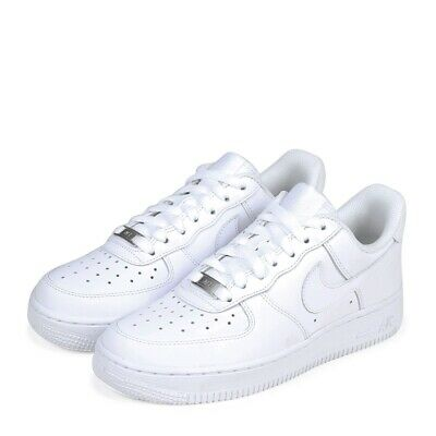 a04f23e904327 Nike Air Force 1 '07 Womens Size 7.5 Basketball Shoes White Display 315115  112