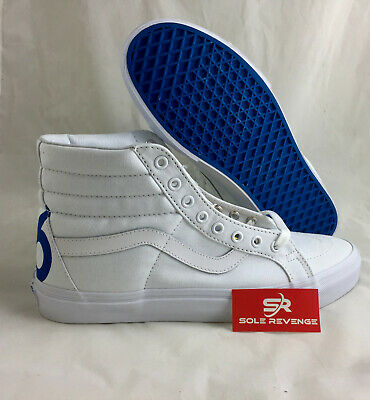 26f6aff6441cfe Vans Sk8-Hi 1966 Top Reissue Sneaker Skate Shoes White Blue Red VN0A2XSBMXF