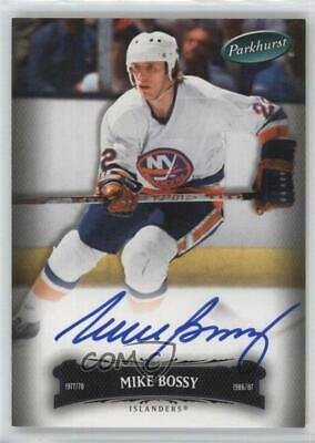 2006 Upper Deck Parkhurst Autographs Autographed #20 Mike Bossy Auto Hockey Card