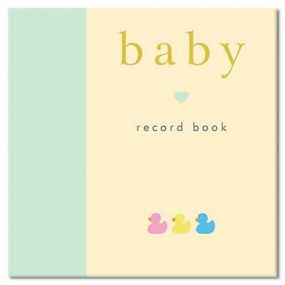 Baby Record Book Gift Stationery Large Padded Memories Photos