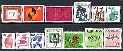 Germany Postage Stamps Scott 1070-1090, 13 MNH Stamp Selection!! G1672a