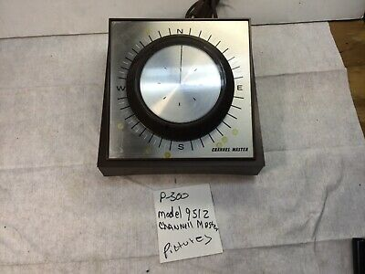 Vintage Channel Master Antenna Rotor Control Box Model 9512  P-300