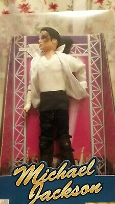 Michael Jackson Street Life Doll .Tied into box .NRFB . Box in great condition
