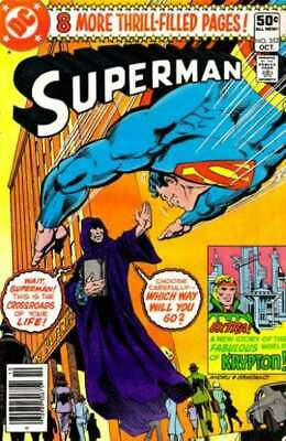 Superman (1939 series) #352 in Fine condition. DC comics [*50]