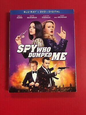 The Spy Who Dumped Me (Blu-Ray, 2018) BLU RAY ONLY USED VGC L@@K