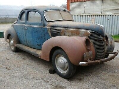 1939 Ford COUPE STANDARD 1939 FORD STANDARD COUPE- SOLID BARN FIND. V-8 FLATHEAD.