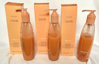 3 Mary Kay Private Spa Collection Satin Hands Smoothie Hand Scrub 7.75 Oz. New