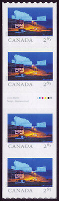 CANADA 2019 From Far and Wide -2 Gutter Strip with # 4 x $2.65 Iceberg Alley MNH