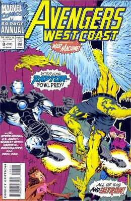 Avengers West Coast Annual #8 in Near Mint minus condition. Marvel comics [*sk]