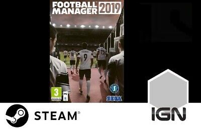 Football Manager 2019 [PC] Steam Download Key - Europe Region