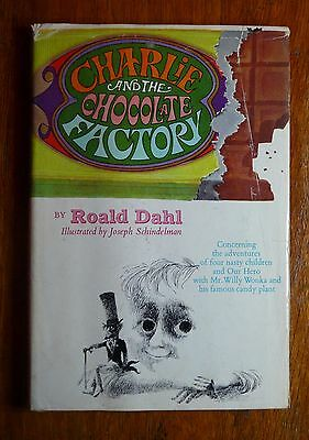 Charlie and the Chocolate Factory by Road Dahl Borzoi Book/Alfred Knopf HC/DJ