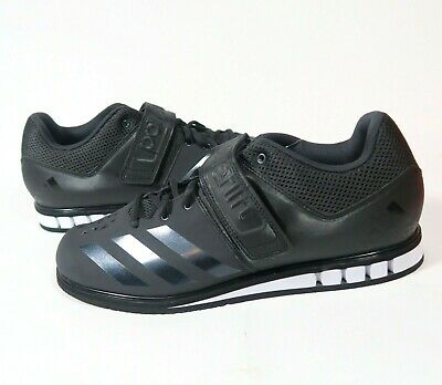 4a0ee6f51ace Adidas Powerlift 3.1 Black White Weightlifting Shoes BA8019 Mens Size 11.5