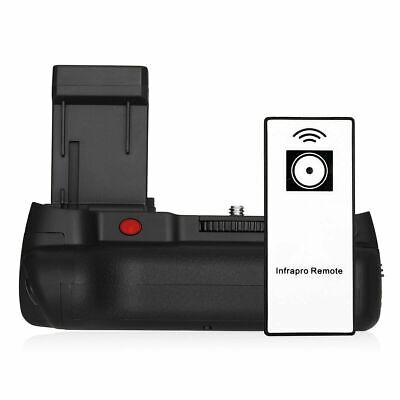 Powerextra Battery Grip For Canon 1100D 1200D 1300D/Rebel T3/T5/T6 With Infrared