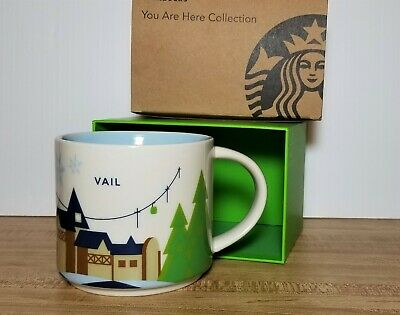 Colorado Are Starbucks Mug Vail You Here Box In Coffee 14oz 2016 New Collection q34jA5RL