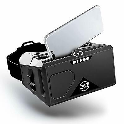MERGE VR/AR Goggles - Virtual and Augmented Reality Headset for iPhone and Andro
