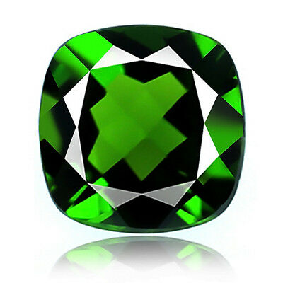 1.15ct 100% Natural earth mined extremely rare deep green color chrome diopside