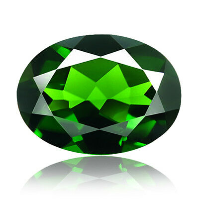 1.34ct 100% Natural earth mined extremely rare deep green color chrome diopside