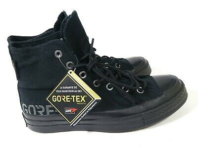 8ba98ee21de3 Converse First String Chuck Taylor All Star 70 Hi Gore-Tex Black 162350C  Mens 6