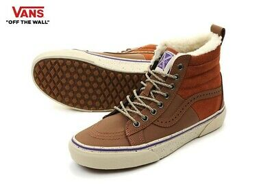 cc3c4f3096d9e0 VANS SK8 HI Del Pato Mte Duck Boot Brown Leather M Us 11 -  55.00 ...