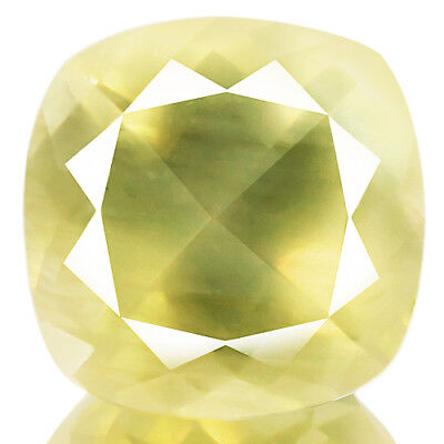9.71ct 100%Natural earth mined extremely rare yellow color andesine from africa