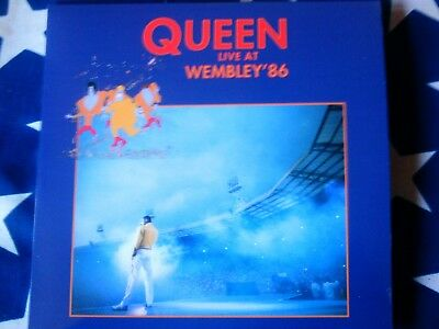 Queen - Live At Wembley '86 - Rare Red Double Vinyl - Mint