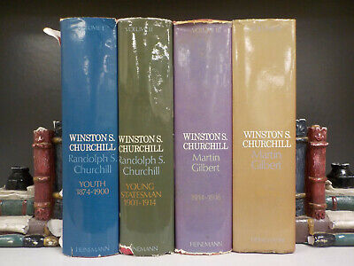 Winston S. Churchill Vol. 1-4 - 4 Books Collection! (ID:4034)