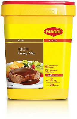 MAGGI Classic Rich Gravy Mix 2kg for Meat Hot Chips Mash Roast