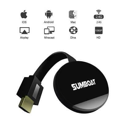 SUMBOAT Wi-Fi Display Dongle for TV, High Speed HDMI Miracast Dongle for Android