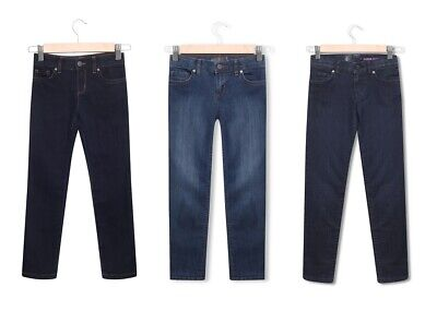 Girls TCP Skinny Jeans Jeggings Leggings Slim Trousers  Denim 4 - 16 Years