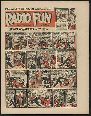 RADIO FUN #600 APR 8th 1950. FROM A SIGNIFICANT COLLECTION