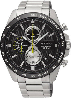 SEIKO SSB261P1 Chronograph 12 Hour 100M Gents 2 Year Guarantee RRP £239.00