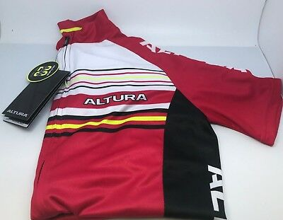 eed781ec5 Altura Womens Strada 2 Short Sleeve Cycling Jersey - Red - Size 14 RRP£40