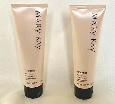 2 Mary Kay Timwiae 3 in 1 CLEANSER Set of TWO New with No Box