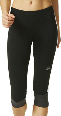 f333cf81756 ADIDAS CLIMA ESSENTIAL 3/4 Capri Womens Running Tights - Black ...