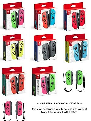 Nintendo Switch Joy Con Wireless Controller - Various Colors  - Bulk Packing
