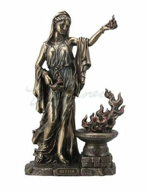 Hestia Greek Goddess of the Hearth and Domesticity Figure Statue Sculpture