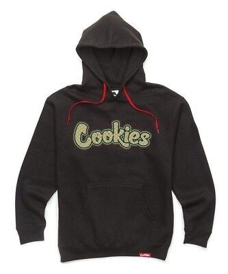 Brand New Authentic Berner Cookies SF Clothing CKS On The Gouch Black Hoodie