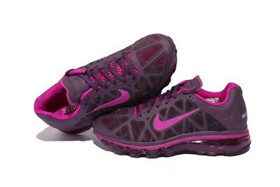 hot sale online dbeaf 5f31f WMNS Nike Air Max+ 2011 SZ 5.5 Wine Vivid Grape 429890-650