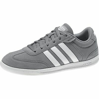 7d1bfd6fb883 Mens Adidas NEO Cross Court Grey Sneaker Athletic Sport Shoes B74442 Sizes  9-14
