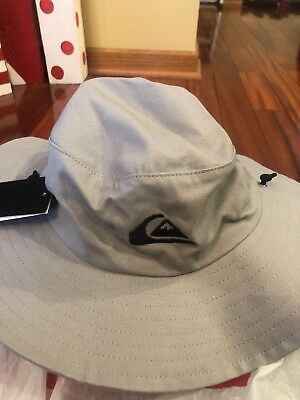 8c895948a81e7 ... where to buy quiksilver bushmaster safari hat smoke gray large xl ff1b2  0b7ee